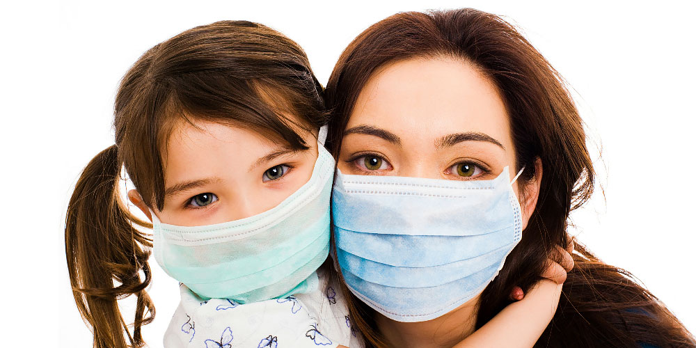 Protection Against Flu With the Use of Face Masks