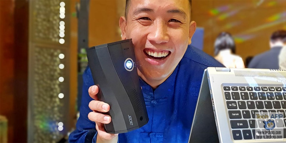 Acer C250i Auto-Portrait Portable Projector : First Look!
