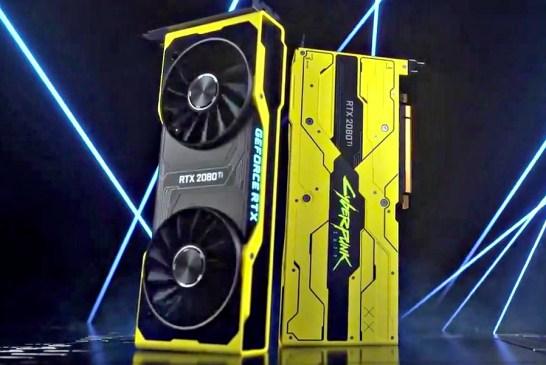 NVIDIA GeForce RTX 2080 Ti Cyberpunk 2077 Giveaway!