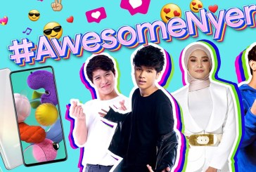 Samsung Galaxy A51 Contest : #AwesomeNyer!