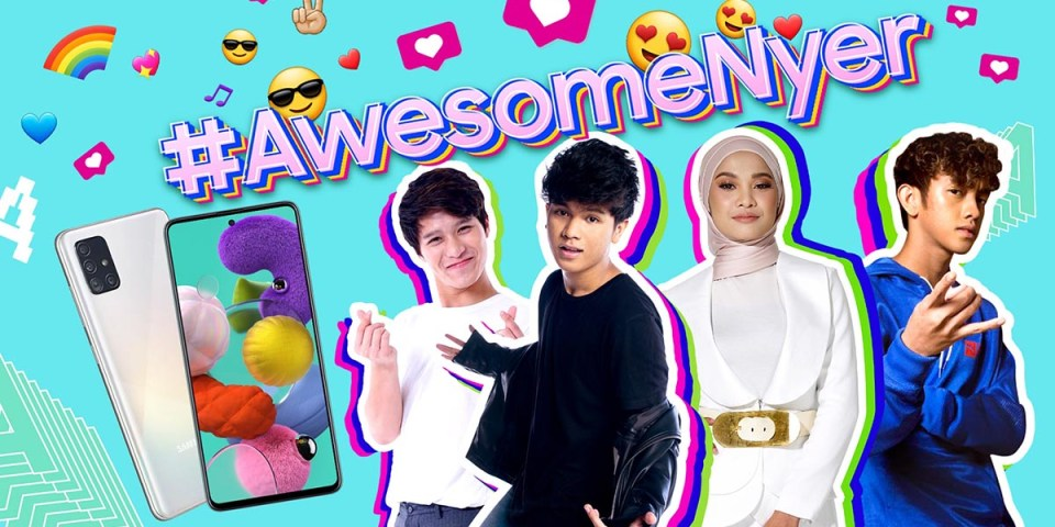 Samsung Galaxy A51 | A71 Contest : #AwesomeNyer!