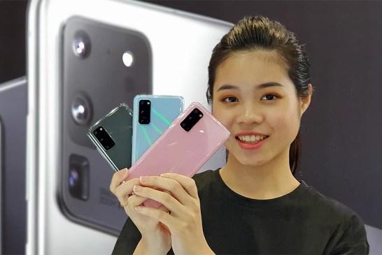 Samsung Galaxy S20 Colour Comparison!