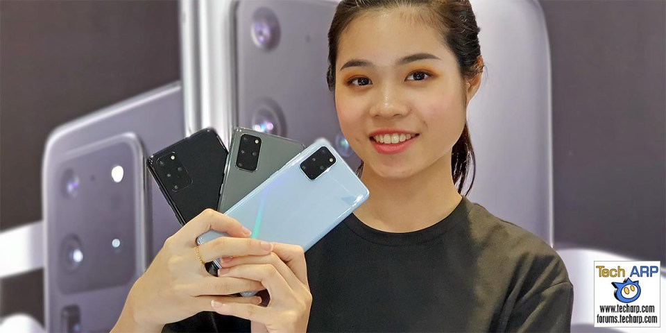 Samsung Galaxy S20 Plus Colour Comparison!
