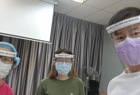 DIY Face Shield : An Easy Way To Make / Mass Produce!