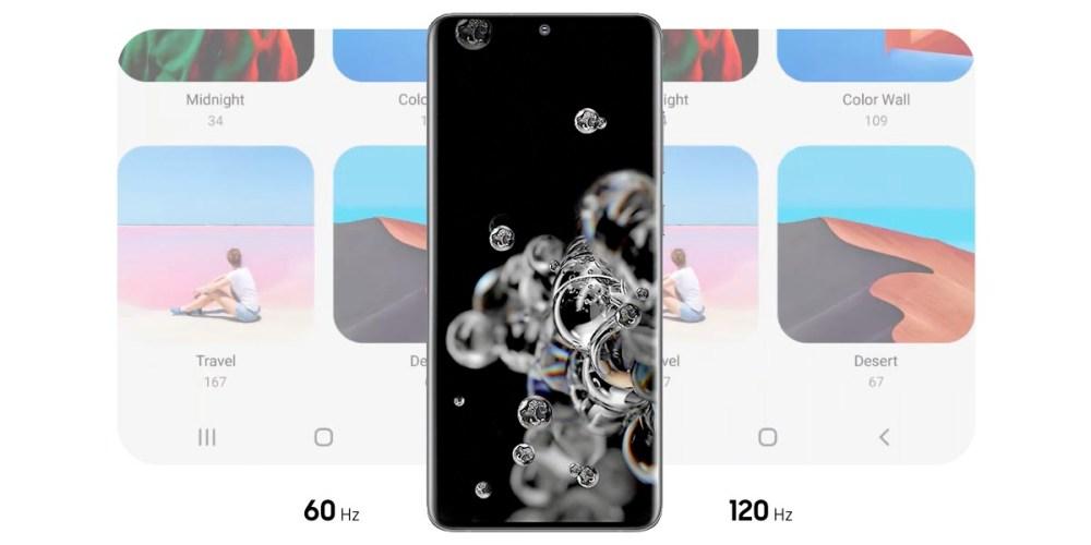 Samsung Galaxy S20 Ultra : 60Hz vs 120Hz Battery Life!