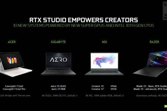 NVIDIA GeForce Spring 2020 Laptop Launch 18