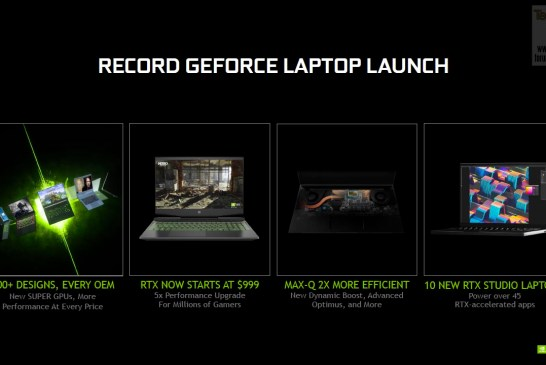NVIDIA GeForce Spring 2020 Laptop Launch 21