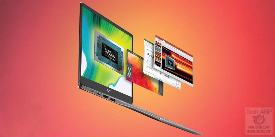 2020 Acer Swift 3 with Ryzen 5 / 10th Gen Intel Revealed!