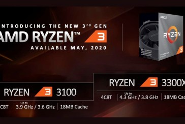 AMD Ryzen 3 3300X vs Ryzen 3 3100 Comparison