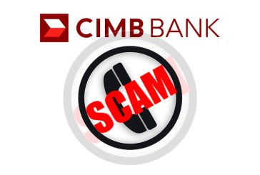 THREE Fake CIMB Bank Call + SMS Scams!