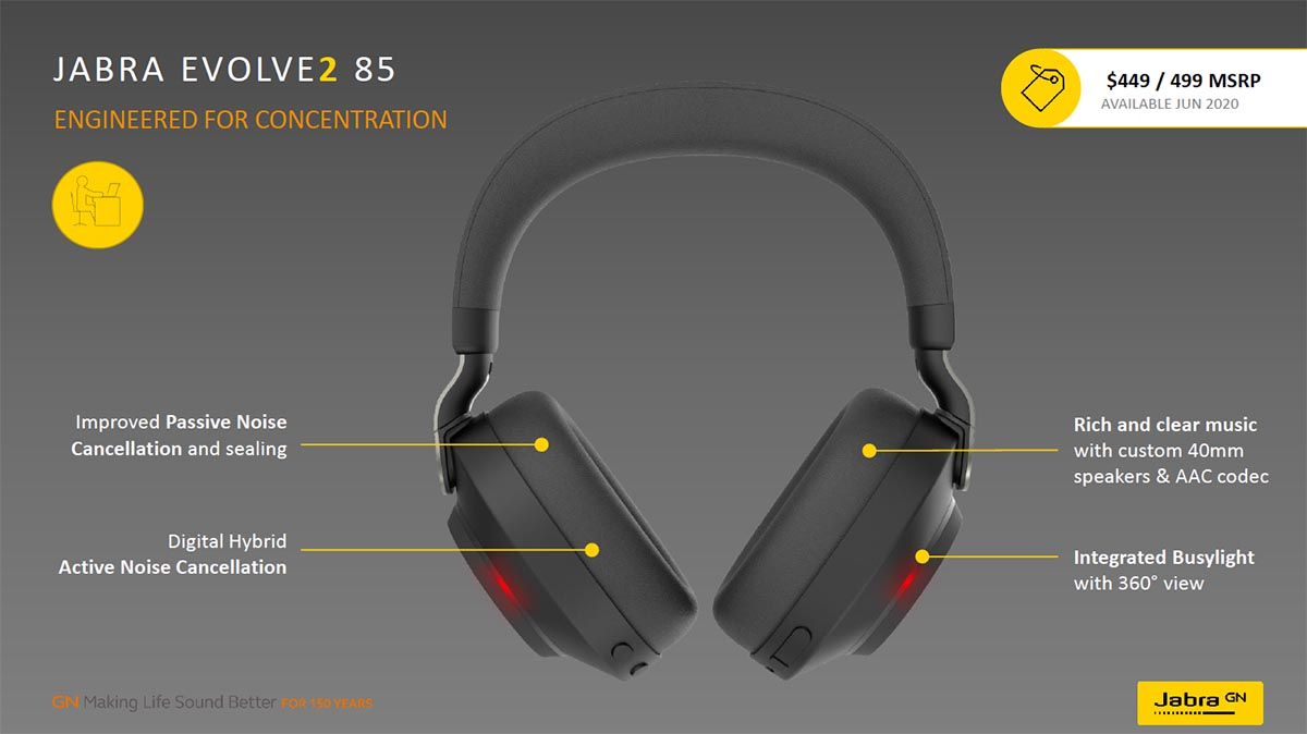 Jabra Evolve2 85 features 01