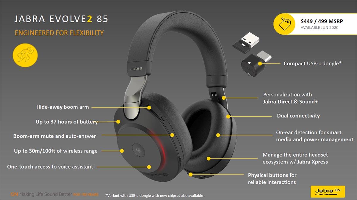Jabra Evolve2 85 features 03