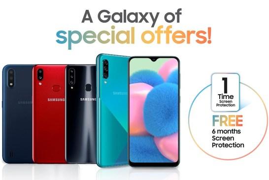 Samsung Galaxy A30s | A20s | A10s | A01 Deals This Raya!