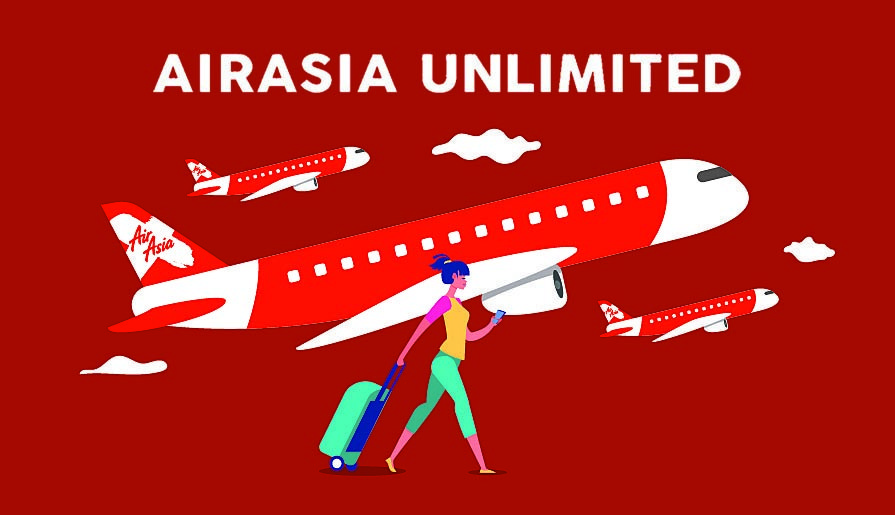AirAsia Domestic Unlimited Pass : How To Book Your Flight!