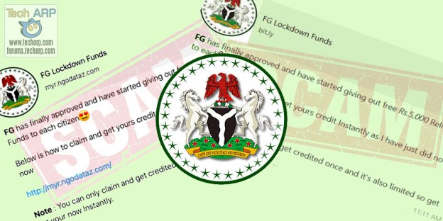 FG Lockdown Funds Scam Exposed!