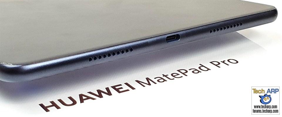 HUAWEI MatePad Pro bottom