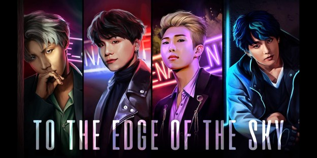 To the Edge of the Sky : Get This BTS Game + 2 DLCs FREE!