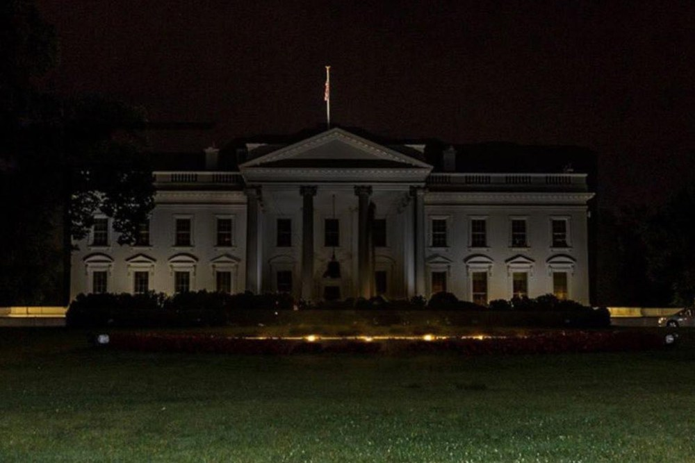 Fact Check : White House Lights Out With Trump In Bunker?