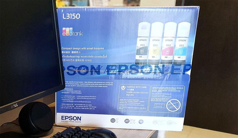 Epson L3150 box