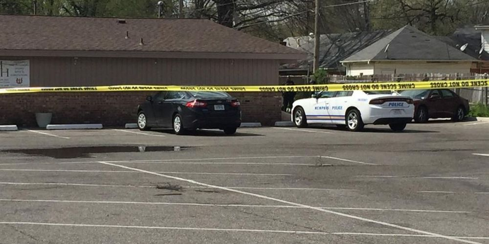 Hickory Hill Funeral Home cordoned off