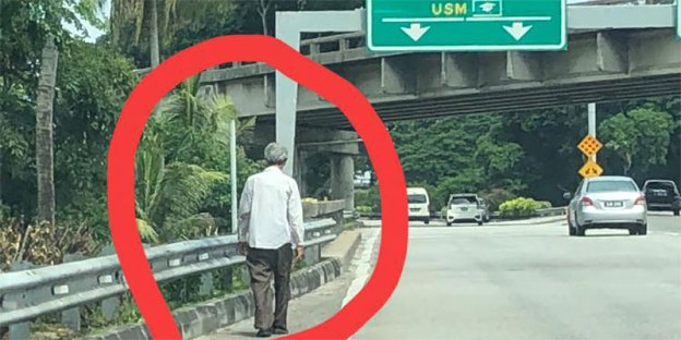 Fact Check : Old Robber Targeting Motorists In Penang?