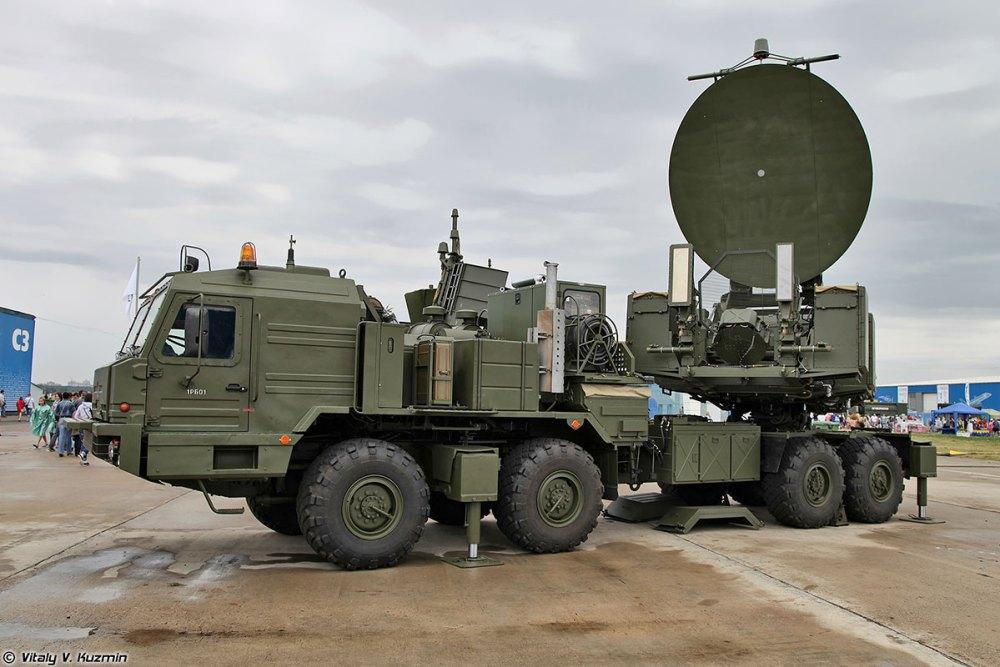 Russian Krasukha ground jamming system