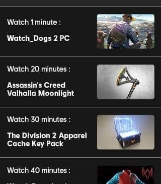 Ubisoft Forward Twitch drop rewards 02