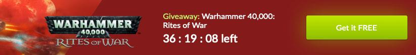Warhammer 40000 Rites of War free game banner