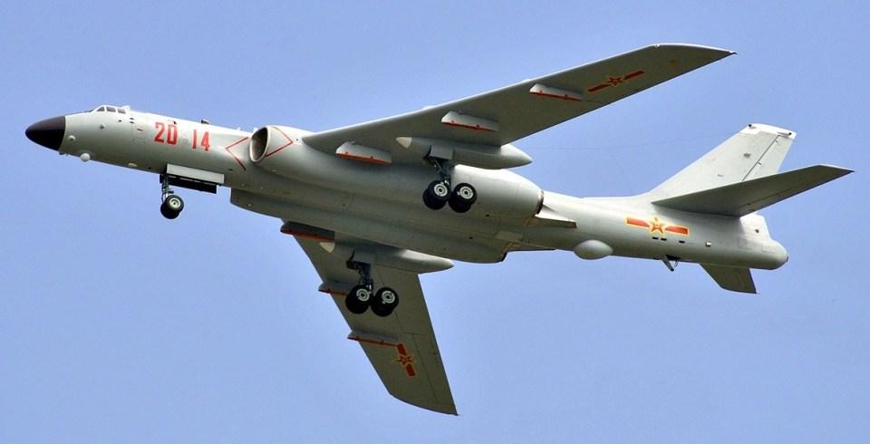 Xian H-6G jamming bomber