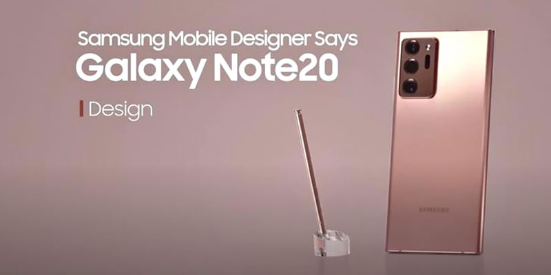 Samsung Galaxy Note 20 Design Inspirations Explained!