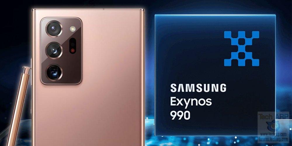 Samsung Galaxy Note 20 Series : Exynos 990 Performance!