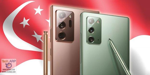 Samsung Galaxy Note 20 : Singapore Price + Pre-Order Deals!