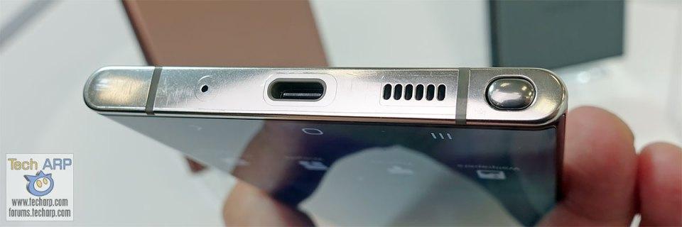 Samsung Galaxy Note 20 Ultra bottom