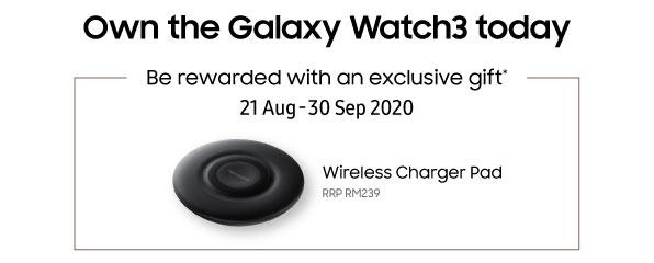 Samsung Galaxy Watch 3 Malaysia launch deal