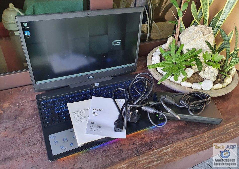 Dell G5 15 5500 box contents