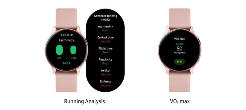 Samsung Galaxy Watch Active 2 Running Analysis + VO2 max