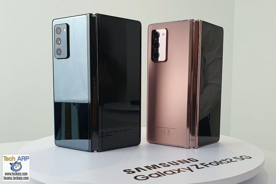 Samsung Galaxy Z Fold2 Colour Options