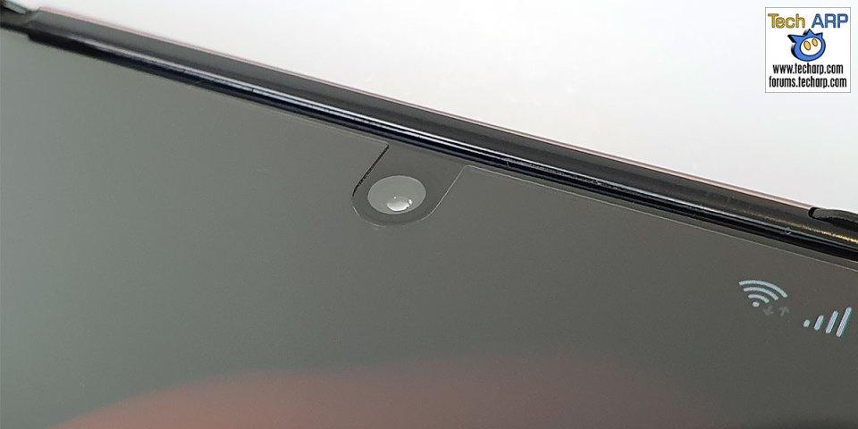 Samsung Galaxy Z Fold2 display camera