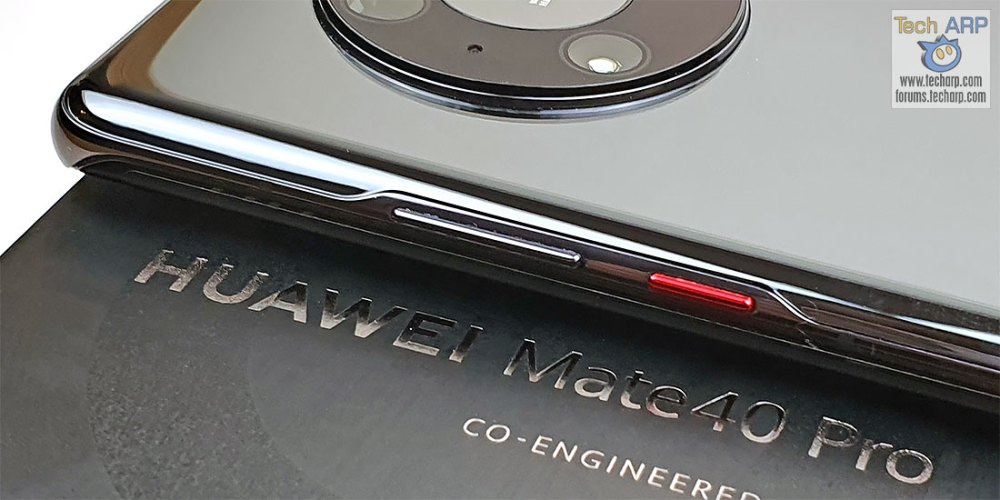 HUAWEI Mate 40 Pro Black buttons