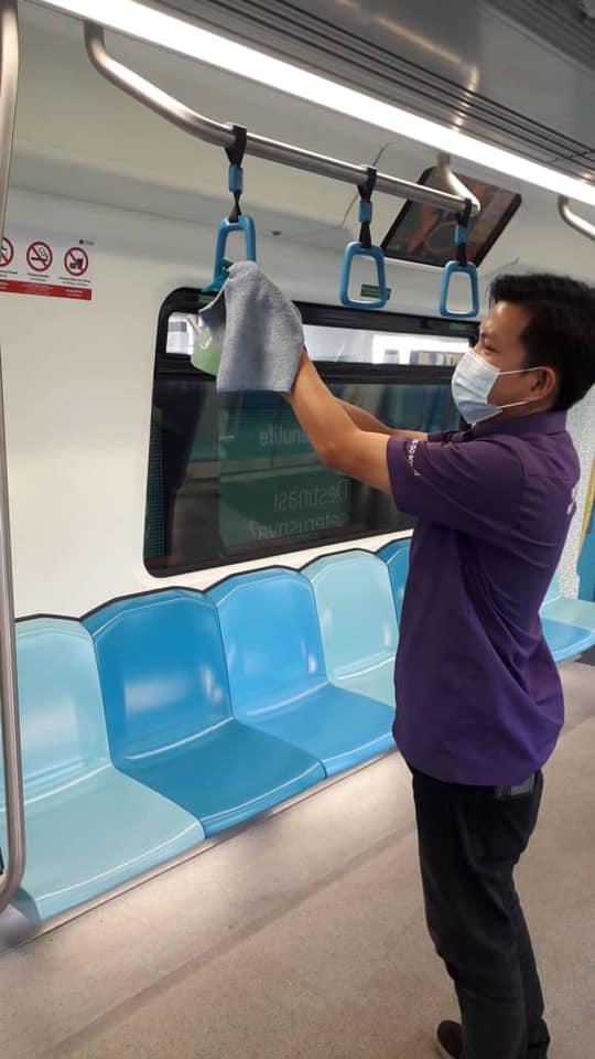 MRT Kajang Line : Transit Officer Positive For COVID-19!