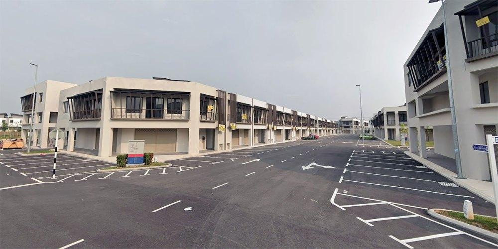 Sinaria Tropicana Aman Street View August 2019