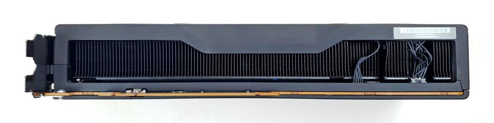 AMD Radeon RX 6800 XT bottom