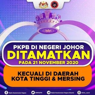 Johor CMCO ends