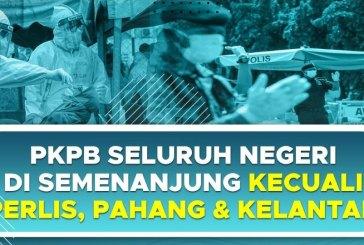 Peninsular Malaysia : CMCO Lockdown Until 6 December!