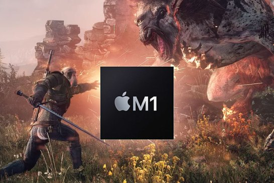 Apple M1 Gaming : Watch It Run The Witcher 3! 😲