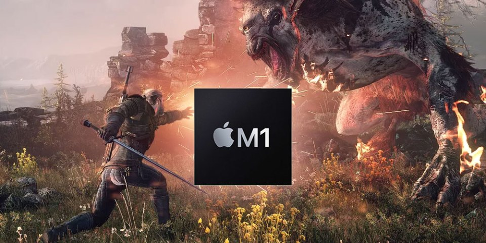 Watch Apple M1 Run The Witcher 3 On CrossOver 20!