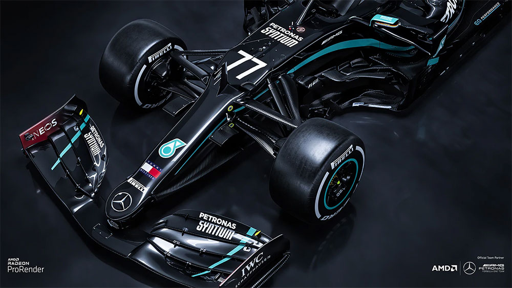 FREE Mercedes-AMG F1 Wallpapers From AMD!