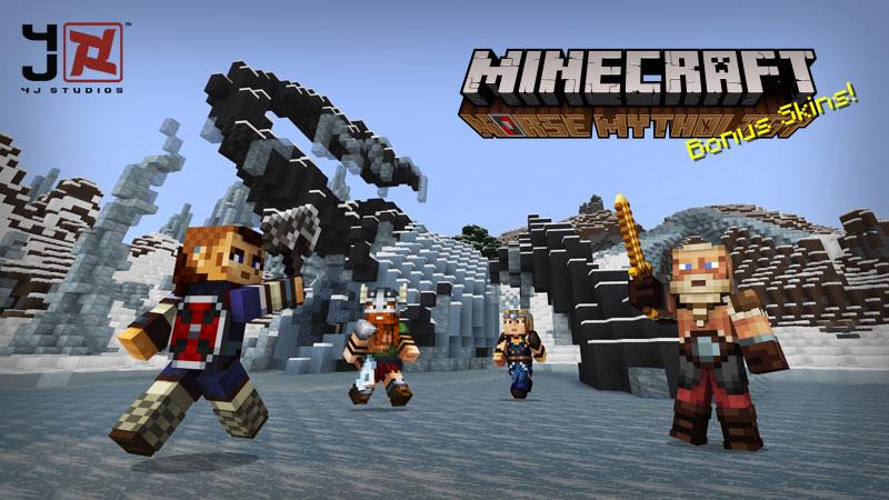 Minecraft Norse Mythology Skins