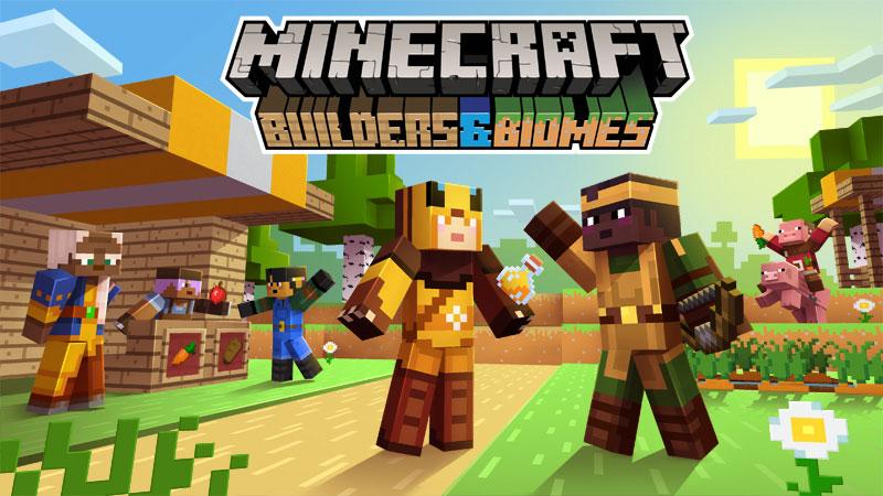 Minecraft free skins - Builders & Biomes