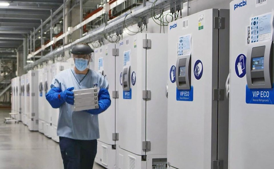 PHCbi ultra-low temperature freezers